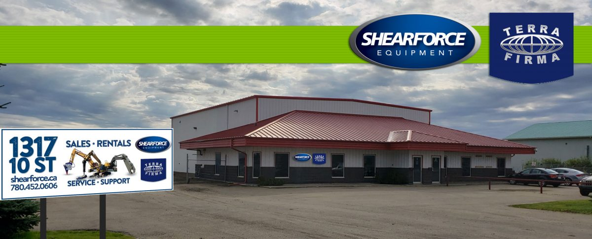 shearforce terrafirma equipment nisku alberta edmonton