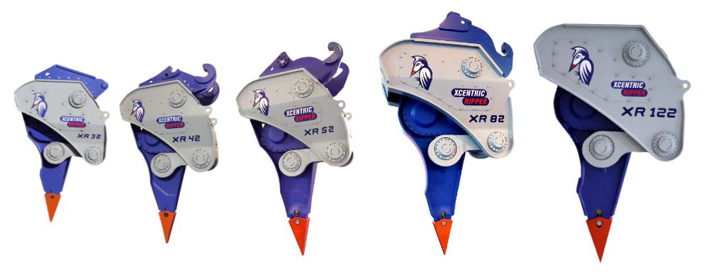 XR mining series range