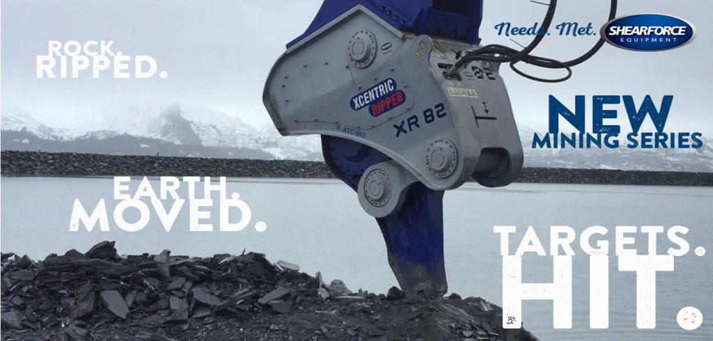 xcentric ripper mining series xr82