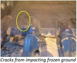 frozen ground excavation