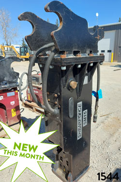 ShearForce SM15 Hydraulic Hammer for rent on sale used canada