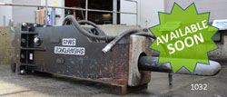 shearforce sm45 hydraulic hammer for sale used