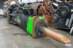 shearforce h165e hydraulic hammer for sale used rent canada