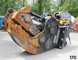 shearforce sp20v fixed demolition pulverizer for sale rent used canada