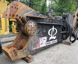 labounty msd2250r mobile scrap shear used for sale rent canada