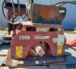 allied 700b hydraulic compactor for rent on sale used canada